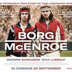 McEnroe-Borg: leur rivalité en film