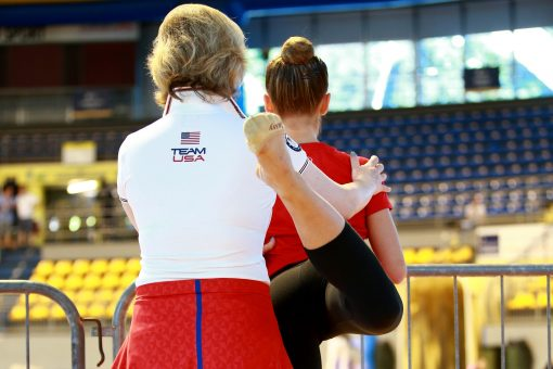 entraîneur-gymnastique-gymnaste